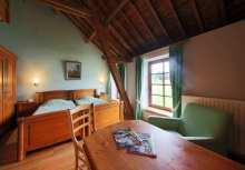 Ferme du château de Laneffe, chambre Liseron, 3 personnes