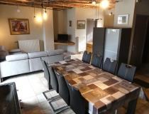 Ferme château Laneffe gîte étable 8 personnes chambre