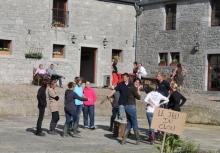 Ferme du Château de Laneffe, activités à la ferme