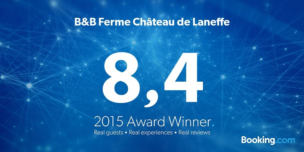Award Booking Laneffe 2015