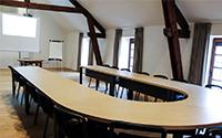 salle réunions ferme chateau de laneffe